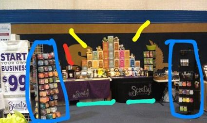 Scentsy Stall