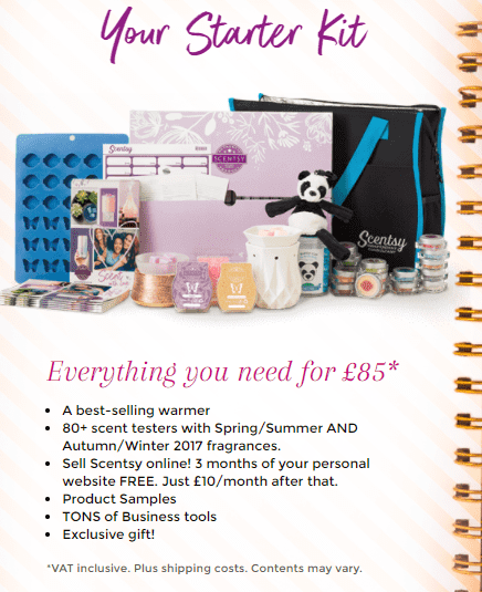 Scentsy Starter Kit Cost