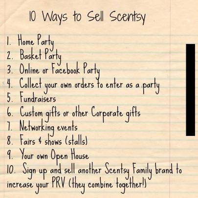 Scentsy Training