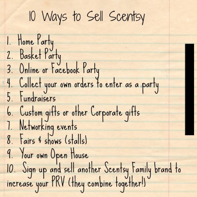 Scentsy Training