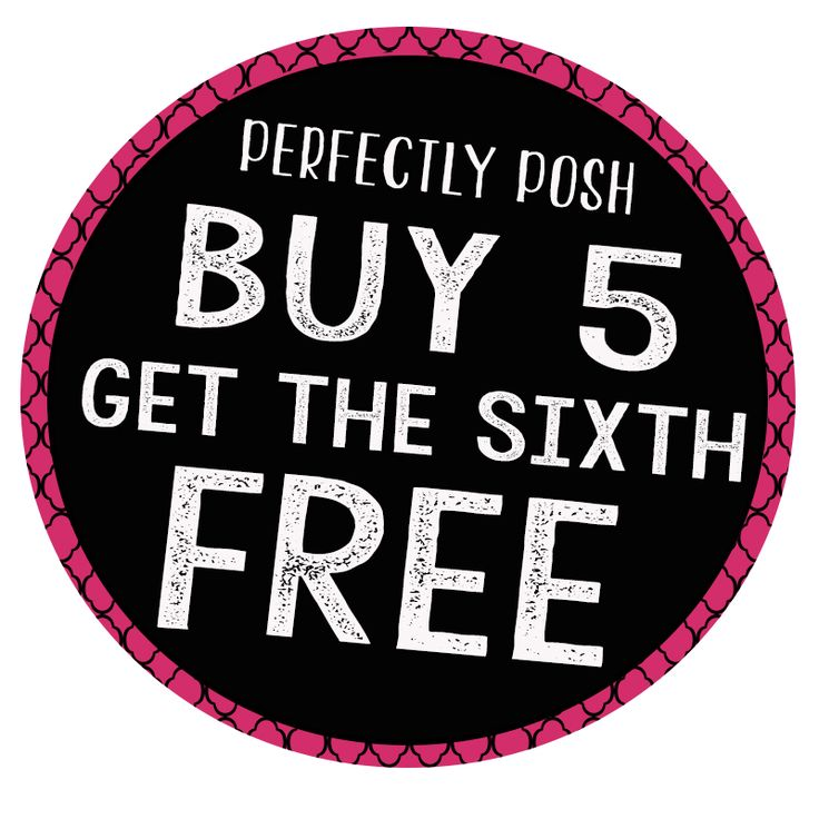 Perfectly Posh Buy 5