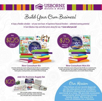 Usborne 2016 Kits