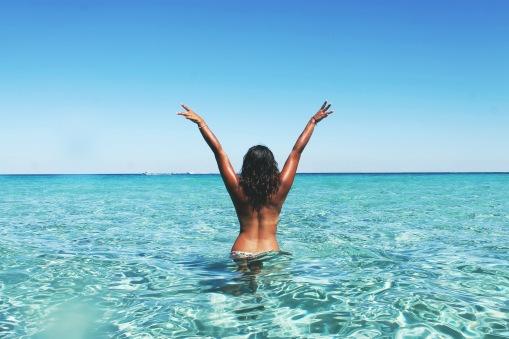 woman-in-ocean