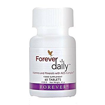 """Forever Living """"Daily"""" vitamins (ForeverLiving.com)"""