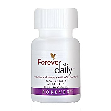"Forever Living ""Daily"" vitamins (ForeverLiving.com)"