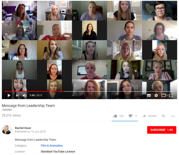 Jamberry YouTube Leadership Team Message