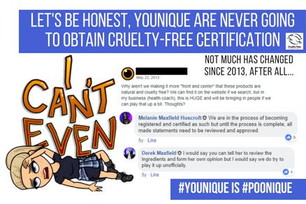 Younique Cruelty Free 2018
