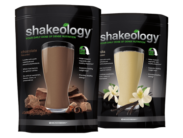 Beachbody products shakeology