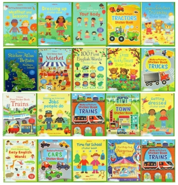 Usborne stickers